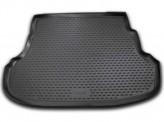 NovLine-Element Резиновый коврик в багажник Hyundai Accent 2010-2017 седан