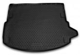 Резиновый коврик в багажник LAND ROVER Discovery Sport 2014- 5 мест без рейлингов