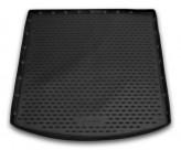 NovLine-Element Резиновый коврик в багажник LAND ROVER Discovery Sport 2014- с рейлингами (пол с адаптивным крепежом)