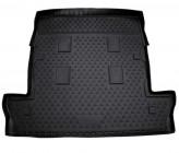 NovLine-Element Резиновый коврик в багажник Lexus LX 570 2008-2015 7 мест длинный