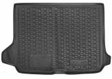 AvtoGumm Резиновый коврик в багажник Audi Q2 2012- (верхний)