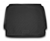 NovLine-Element Резиновый коврик в багажник Opel Zafira 2011-2019 длинный 5 7 мест