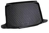 Резиновый коврик в багажник SKODA Fabia 2007-2014 хэтчбек