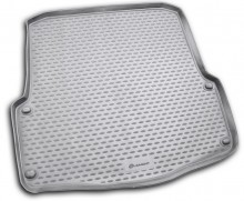 Резиновый коврик в багажник Skoda Octavia A5 2008-2013 универсал