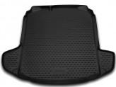 NovLine-Element Резиновый коврик в багажник Skoda Rapid 2012-седан