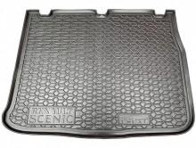 AvtoGumm Резиновый коврик в багажник Renault Scenic 2003-2009