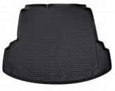 NovLine-Element Резиновый коврик в багажник VW Jetta 2010-2018 с карманами