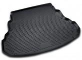 NovLine-Element Резиновый коврик в багажник ZAZ Sens 2002-2014 седан