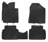 Глубокие резиновые коврики в салон Hyundai iX35 2010-2015