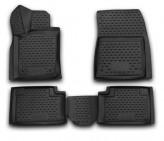 Глубокие резиновые коврики в салон Jeep Grand Cherokee 2014-