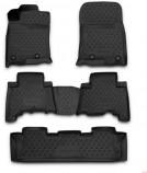 Глубокие резиновые коврики в салон LEXUS GX 460 2013-