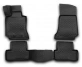 Глубокие резиновые коврики в салон MERCEDES С-Class W205 2014- седан