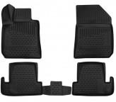 Глубокие резиновые коврики в салон Peugeot 308 2014-