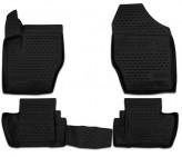Глубокие резиновые коврики в салон Peugeot 408 2012-