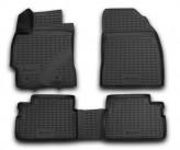 Резиновые глубокие коврики TOYOTA Corolla 2007-2013