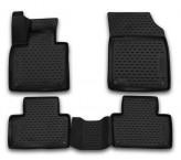 Резиновые глубокие коврики VOLVO XC90 2015-