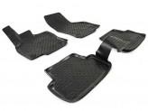 Резиновые глубокие коврики VW Golf VII 2013-