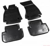 Резиновые глубокие коврики AUDI A4 B8 2007-2015 АКПП