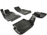 Резиновые глубокие коврики AUDI A6 С6 2006-2011