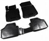 Резиновые глубокие коврики BMW X1 E84 2009-2015