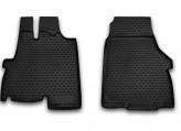 Глубокие резиновые коврики в салон FIAT Ducato 2012-