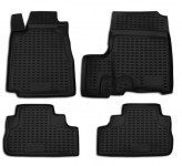 Глубокие резиновые коврики в салон HONDA CR-V 2006-2012