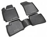 Резиновые глубокие коврики Hyundai Elantra 2007-2011