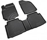Резиновые глубокие коврики Hyundai Matrix 2001-2007