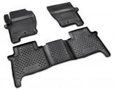 Глубокие резиновые коврики в салон LAND ROVER Range Rover Sport 2005-2013