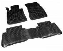 Резиновые глубокие коврики MERCEDES E-Class W211 2002-2009 задний привод