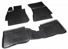 Резиновые глубокие коврики MERCEDES S-Class W221 2005-2013
