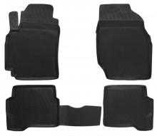 Резиновые глубокие коврики NISSAN Almera Classic 2006-2012