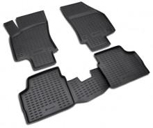 NovLine-Element Резиновые глубокие коврики OPEL Astra H седан