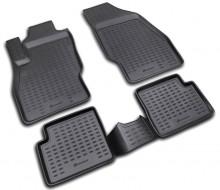 Резиновые глубокие коврики OPEL Corsa D 2006-2014