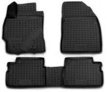 Глубокие резиновые коврики в салон TOYOTA Corolla 2007-2013