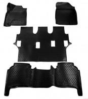 NovLine-Element Глубокие резиновые коврики в салон TOYOTA  Land Cruiser 200 2007-2012
