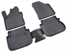 Резиновые глубокие коврики VW  Caddy 2007-2015