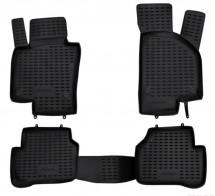 Резиновые глубокие коврики VW Passat B6 2005-2010