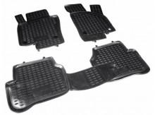 Резиновые глубокие коврики VW Passat B7 2010-2014 (Европа)