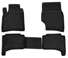 Резиновые глубокие коврики VW Touareg 2002-2010