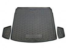 AvtoGumm Резиновый коврик в багажник SEAT Tarraco (нижняя полка)
