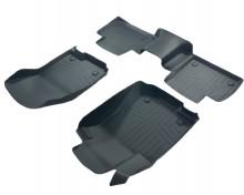 Коврики резиновые 3D LUX для Mercedes GLE GLC ML (W166) 2011-2018