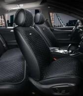 Универсальные автомобильные накидки PALERMO черные, ПЕРЕДНИЕ