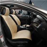 Универсальные автомобильные накидки NAPOLI бежевые, передние.