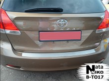 Nataniko Накладка на бампер Toyota Venza 2012-2017