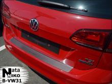 Nataniko Накладка на бампер Volkswagen VW GOLF VII универсал