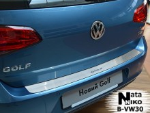Nataniko Накладка на бампер Volkswagen VW GOLF VII