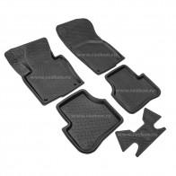 Глубокие резиновые коврики Volkswagen Golf 5-6 Jetta 05-10