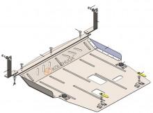 Кольчуга Защита двигателя, коробки передач Ford Ecosport 2020- МКПП