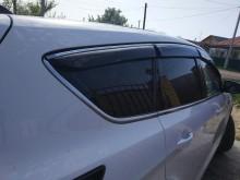 Cobra Tuning Ветровики с хром молдингом Toyota Land Cruiser Prado 150 5d 2009-2014- ТРЕТЬЯ ЧАСТЬ